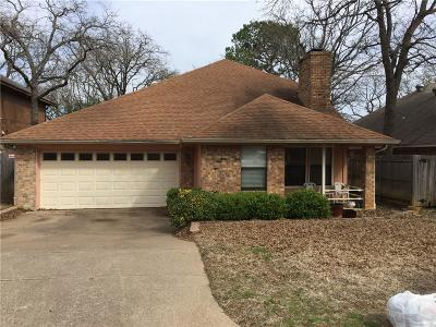 Arlington Single Family Home For Sale: 3907 Wentworth Drive