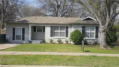 Garland Single Family Home For Sale: 2209 Lee Street