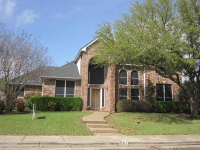 Desoto Single Family Home For Sale: 1333 Daventry Drive