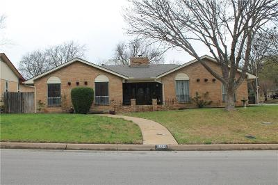 Fort Worth Single Family Home For Sale: 3000 Gunnison Trail