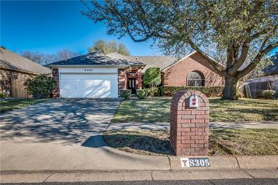 North Richland Hills Single Family Home Active Option Contract: 8305 Southgate Drive
