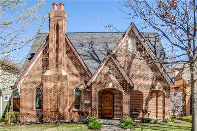 Dallas Single Family Home For Sale: 6115 Prospect Avenue