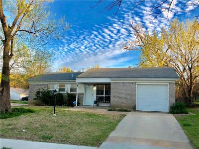 Grand Prairie TX Single Family Home For Sale: $145,000