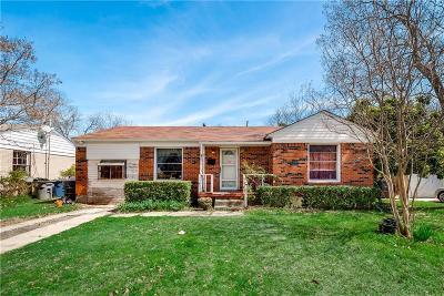 Dallas Single Family Home Active Option Contract: 10518 Desdemona Drive