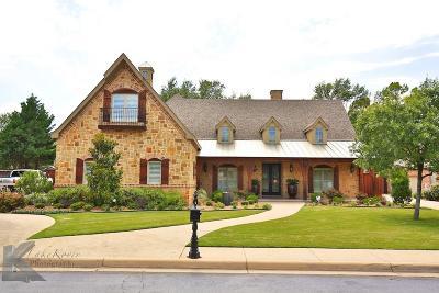 Abilene Single Family Home For Sale: 5282 Peppermill Lane