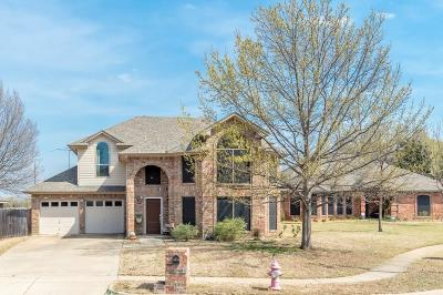 Euless Single Family Home Active Option Contract: 3016 Clairemont Lane