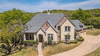 Fort Worth Single Family Home Active Kick Out: 10500 Estancia Court