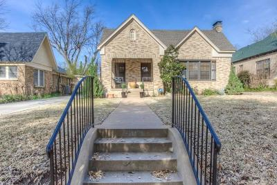 Fort Worth Single Family Home For Sale: 2308 Tremont Avenue