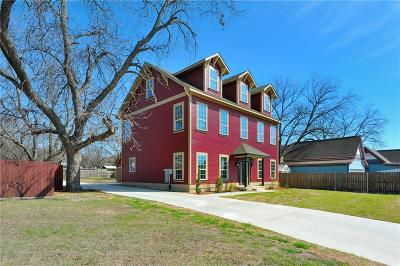 Weatherford Single Family Home Active Contingent: 408 W Russell Street