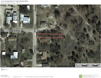 Weatherford Residential Lots & Land For Sale: 1514 Madison Street