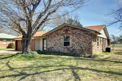 Keller Single Family Home Active Option Contract: 213 S Elm Street