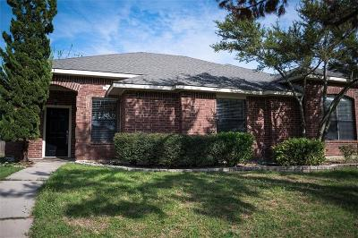 Allen Single Family Home Active Option Contract: 743 Livingston Drive