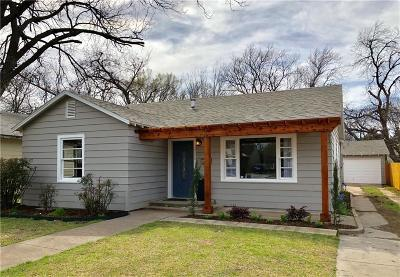 Fort Worth Single Family Home For Sale: 3208 8th Avenue