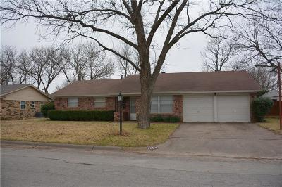 Everman Single Family Home Active Option Contract: 708 Peppermill Lane