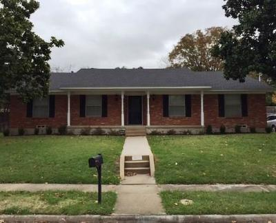 Garland Residential Lease For Lease: 3222 Hampden Drive