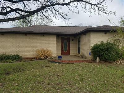 Stephenville Single Family Home Active Contingent: 111 Seminole