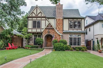 University Park Single Family Home For Sale: 3437 Granada Avenue
