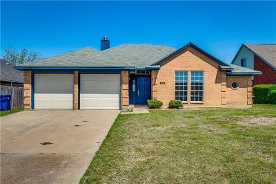 Garland Single Family Home For Sale: 1105 High Hill Place