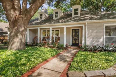 Dallas, Frisco, Plano, Southlake, Highland Park, University Park, Mckinney, Richardson, Garland, Cedar Hill Single Family Home Active Option Contract