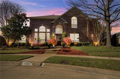 Allen Single Family Home For Sale: 1401 Fieldstone Drive