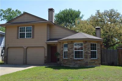 Mansfield Single Family Home Active Option Contract: 1006 Blue Jay Drive