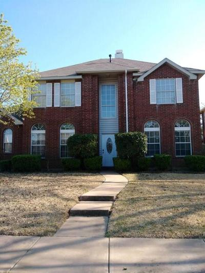 Carrollton Single Family Home For Sale: 1508 Mission Ridge Trail