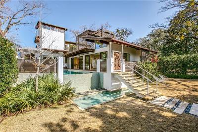 Highland Park Single Family Home For Sale: 4801 Abbott Avenue