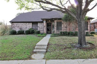 Carrollton Single Family Home For Sale: 2903 Sierra Drive