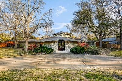 Dallas Single Family Home For Sale: 6807 Cliffbrook Drive