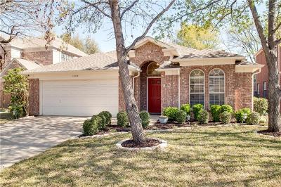 Flower Mound Single Family Home For Sale: 1828 Newton Drive