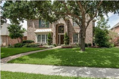 Coppell Single Family Home Active Option Contract: 915 Mill Trail