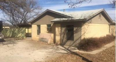 Cisco TX Single Family Home For Sale: $85,000