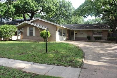 Irving Residential Lease For Lease: 2309 Druid Drive