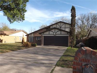 Irving Single Family Home For Sale: 2612 Quail Valley