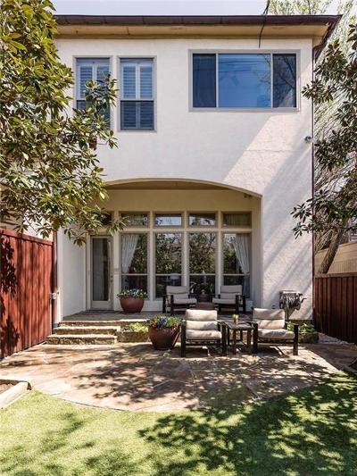 Dallas TX Townhouse For Sale: $930,000