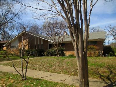 Irving Single Family Home For Sale: 417 Lakeside Drive