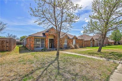 Carrollton Single Family Home For Sale: 3810 Virginia Pine Drive