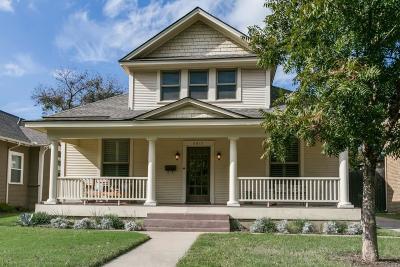 Dallas Single Family Home For Sale: 5917 Reiger Avenue