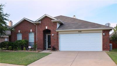 Haltom City Single Family Home Active Contingent: 5049 Blanco Drive