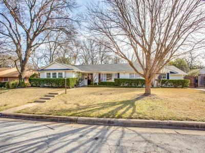 Fort Worth Single Family Home For Sale: 6309 Halifax Road