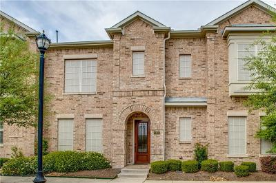 Frisco Townhouse For Sale: 8451 Moore Street