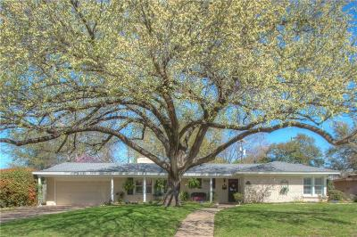 Fort Worth Single Family Home For Sale: 6100 El Campo Avenue