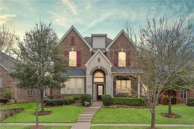 Frisco Single Family Home Active Option Contract: 6921 Parker Creek Place