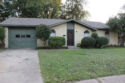 Garland Residential Lease For Lease: 3805 Cambridge Drive