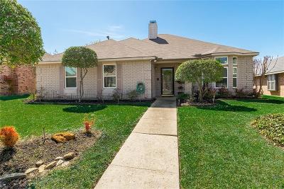 Carrollton Single Family Home Active Option Contract: 2006 Greenstone Trail