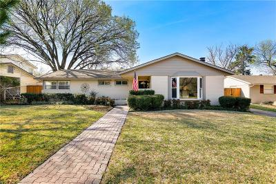 Dallas Single Family Home For Sale: 3546 Woodleigh Drive