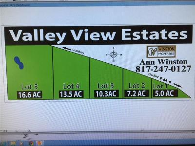 Godley Farm & Ranch For Sale: Lot 4 W Fm 4