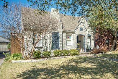 Dallas Single Family Home For Sale: 5215 Ridgedale Avenue