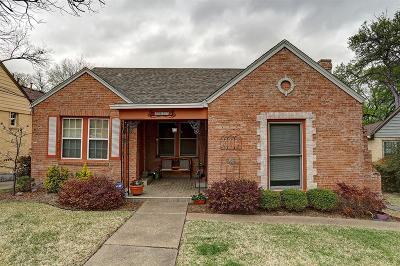 Dallas Single Family Home For Sale: 6907 Santa Fe Avenue
