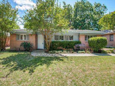 Dallas Single Family Home For Sale: 7314 Bennington Drive